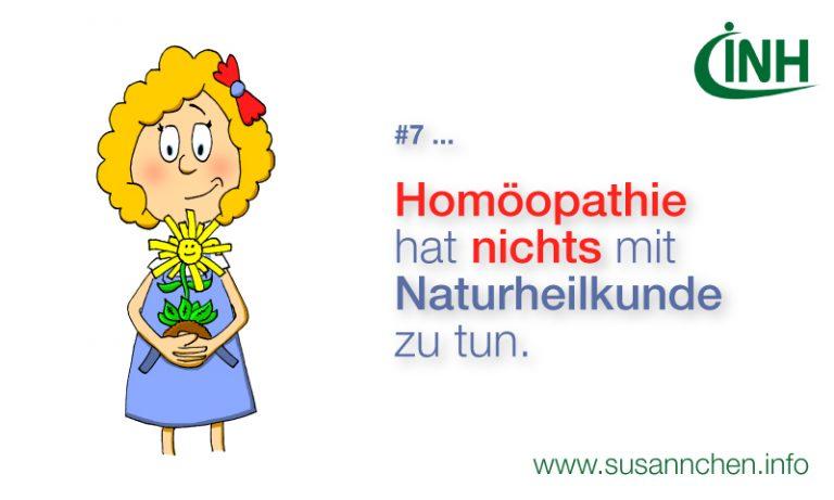 Homöopathie ist keine Naturheilkunde – warum nicht?