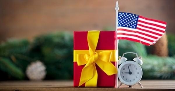 Ein Weihnachtsgeschenk aus den USA…